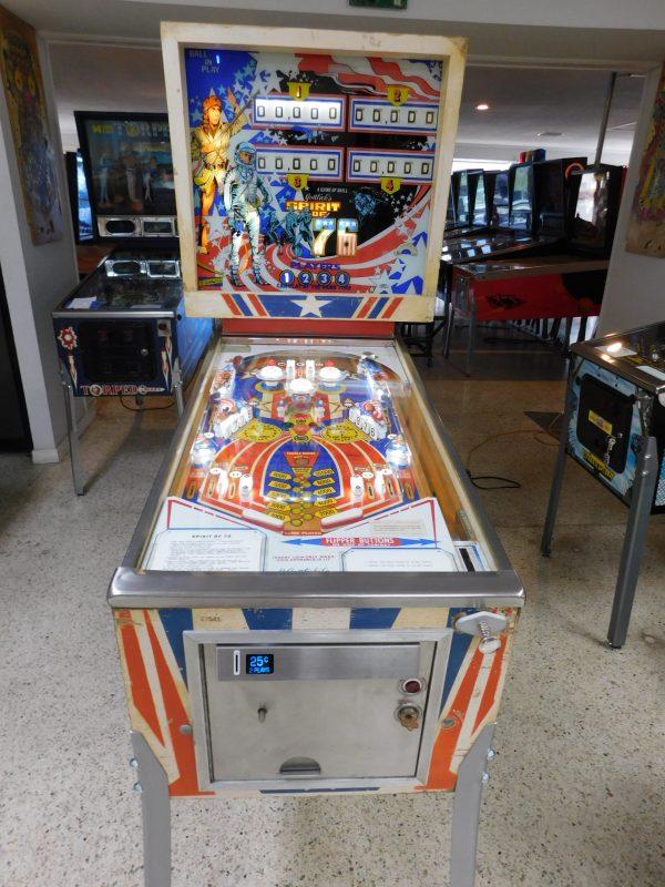 Pinball Restorations, Gottlieb Spirit of '76