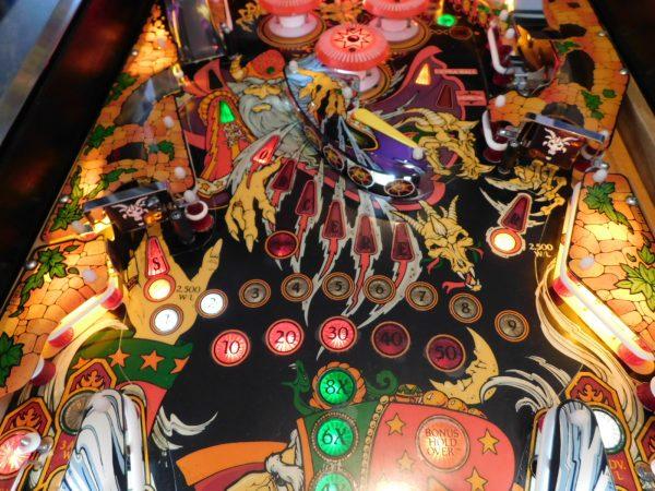 Pinball Restorations, Williams Sorcerer