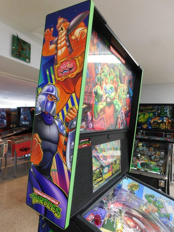 Pinball Restorations, Stern Teenage Ninja Turtles Pro