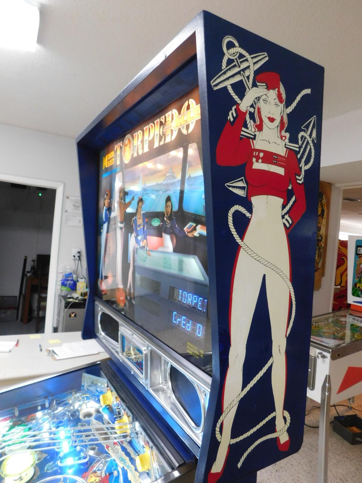 Pinball Restorations, Data East Torpedo Alley