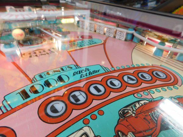 Pinball Restorations, Bally Old Chicago