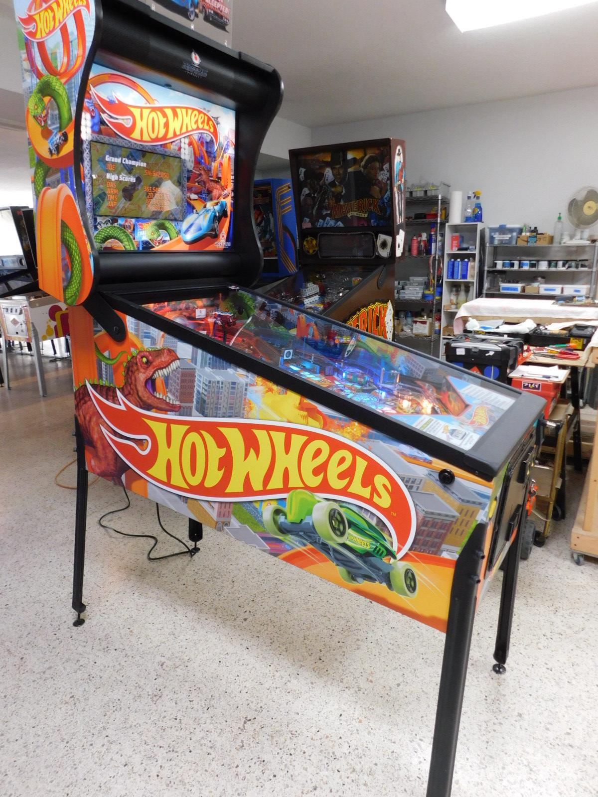 Pinball Restorations, American Pinball Hot Wheels