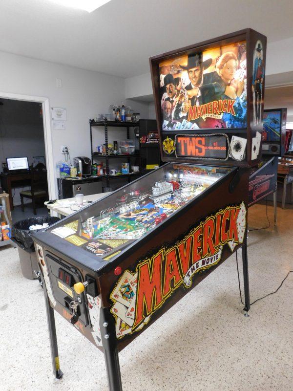 Pinball Restorations, Data East Maverick