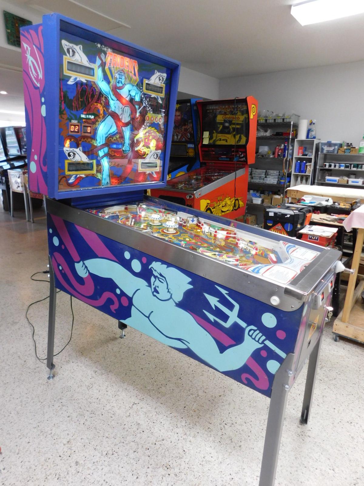 Pinball Restorations, Stern Trident