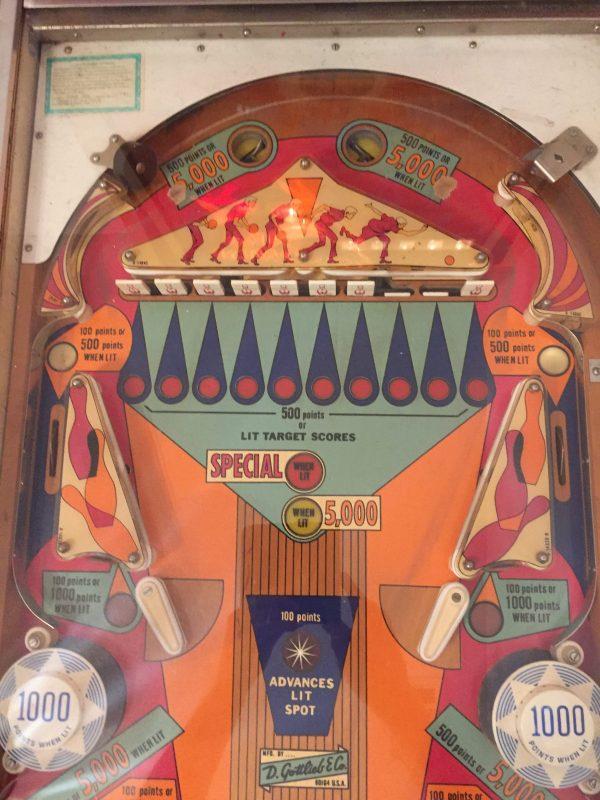 Pinball Restorations, Gottlieb King Pin