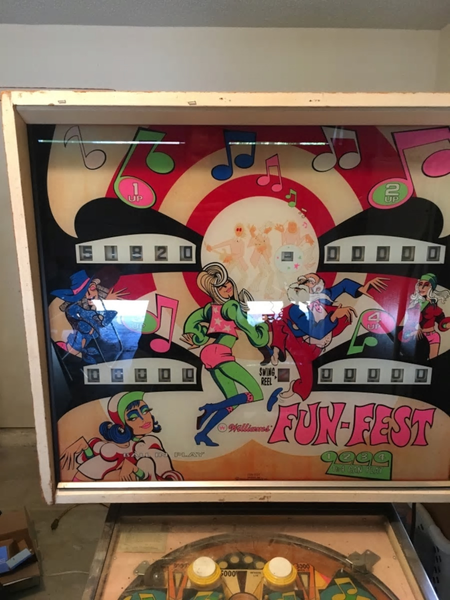 Pinball Restorations, Williams Fun Fest