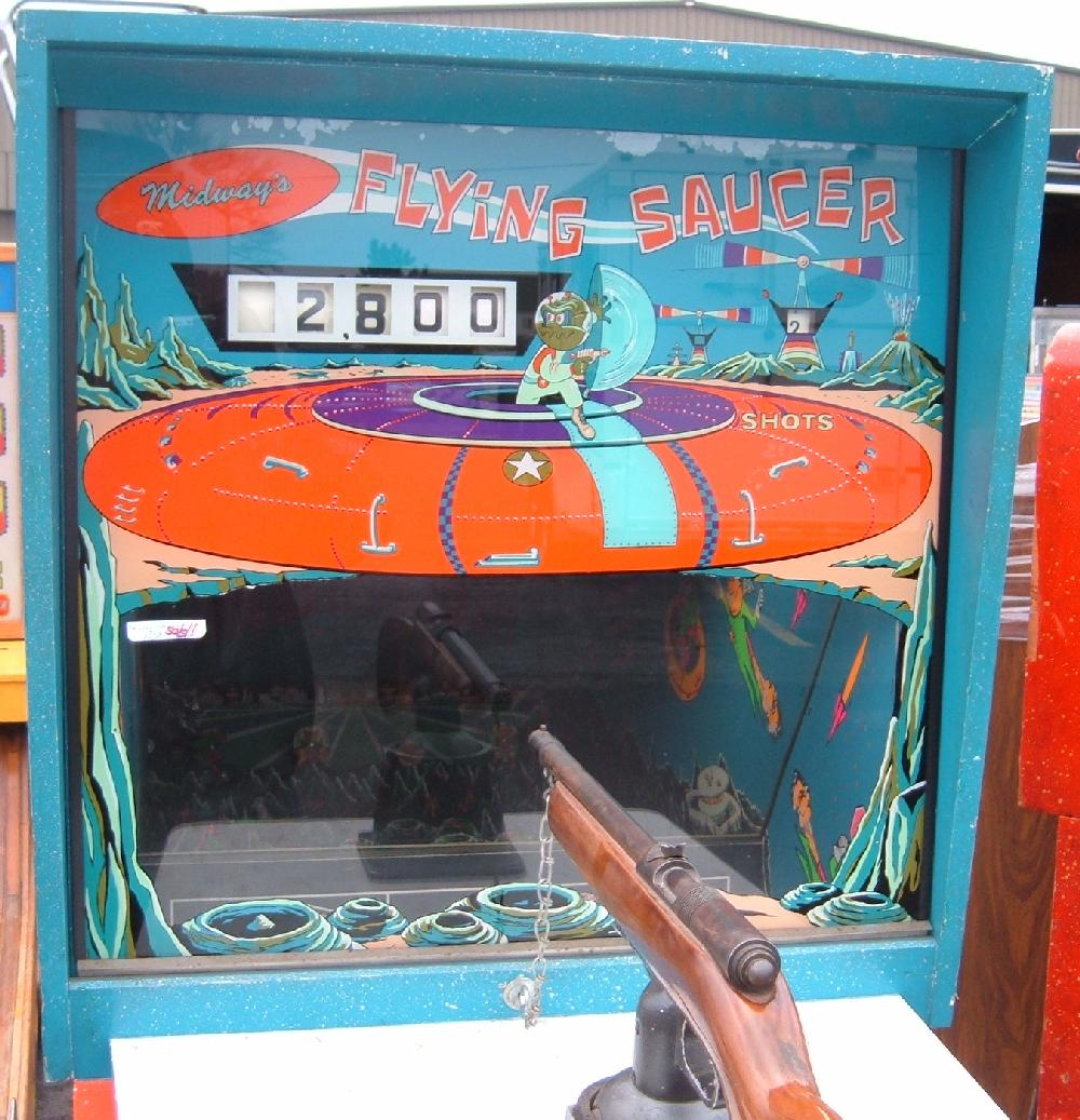 Midway Flying Saucer Arcade