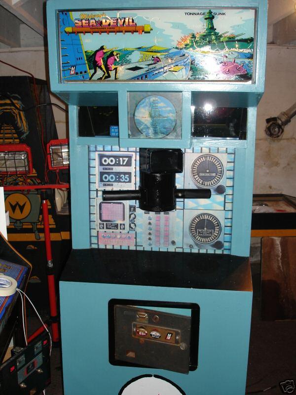 Midway Sea Devil Arcade