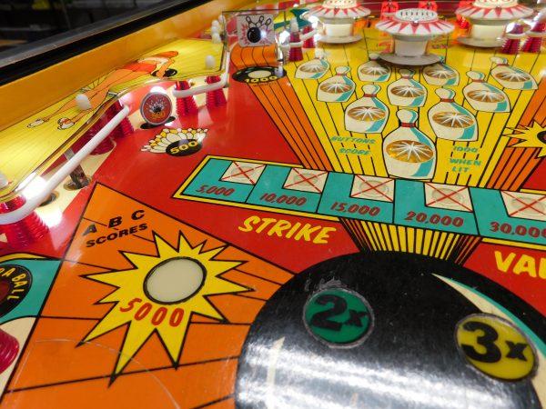 Pinball Restorations, Bally Strikes and Spares