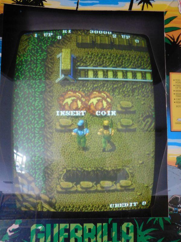 Pinball Restorations, SNK Guerrilla War Arcade Game