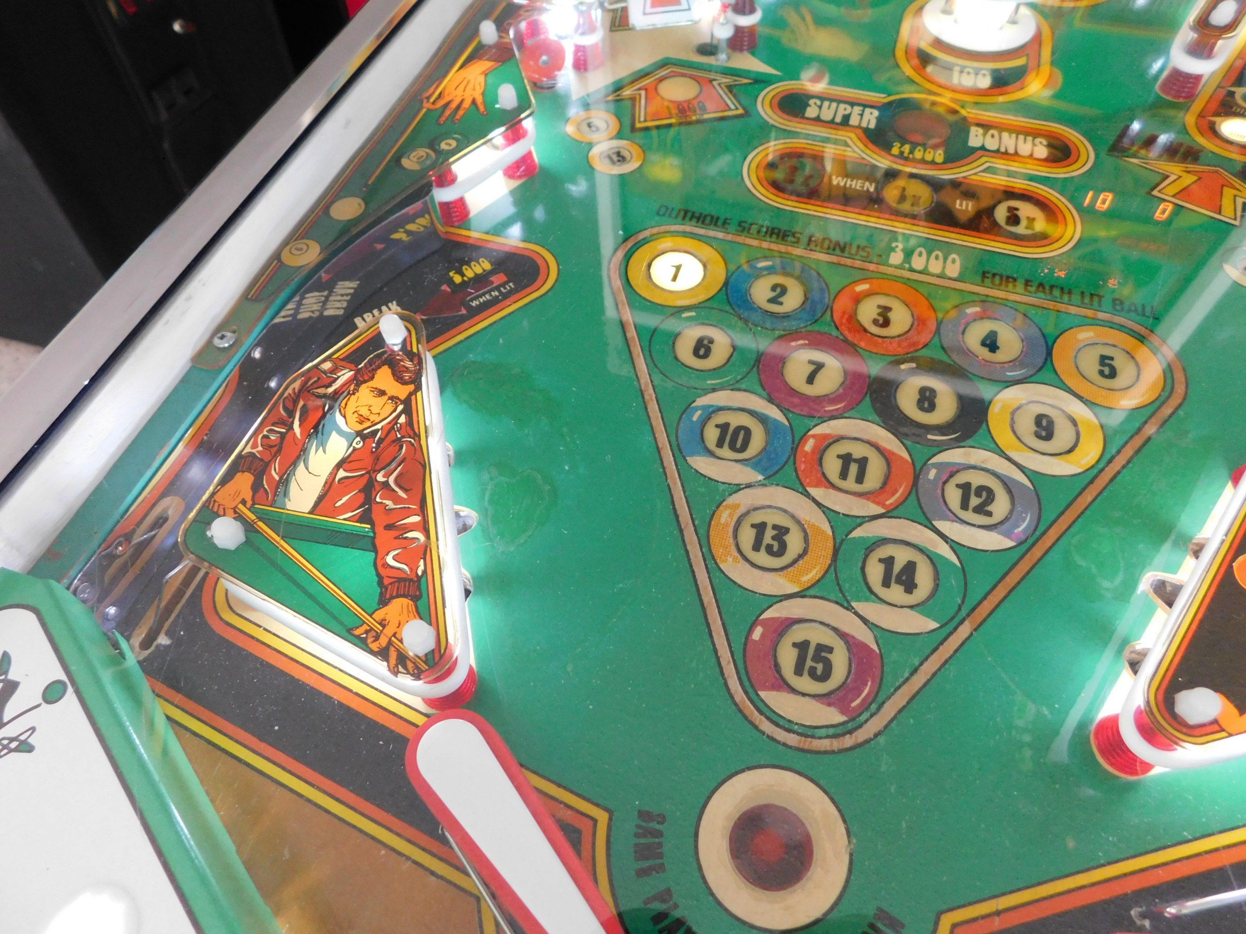Pinball Restorations, Bally Eight Ball