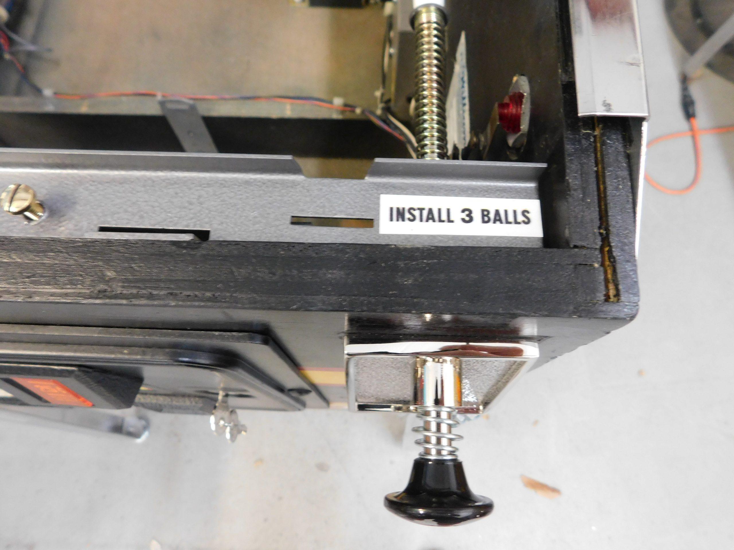Pinball Restorations, Williams High Speed