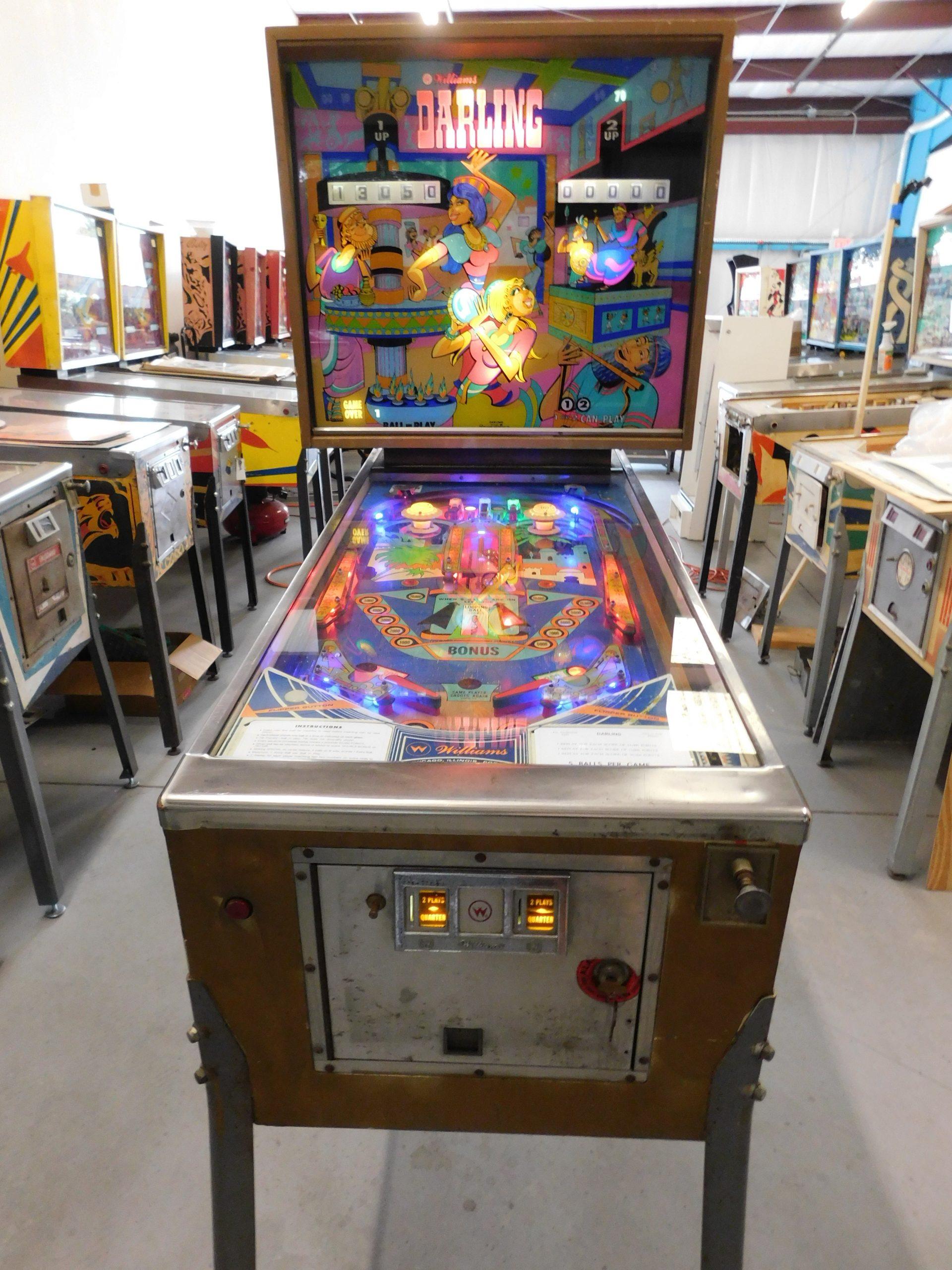 Pinball Restorations, Williams Darling