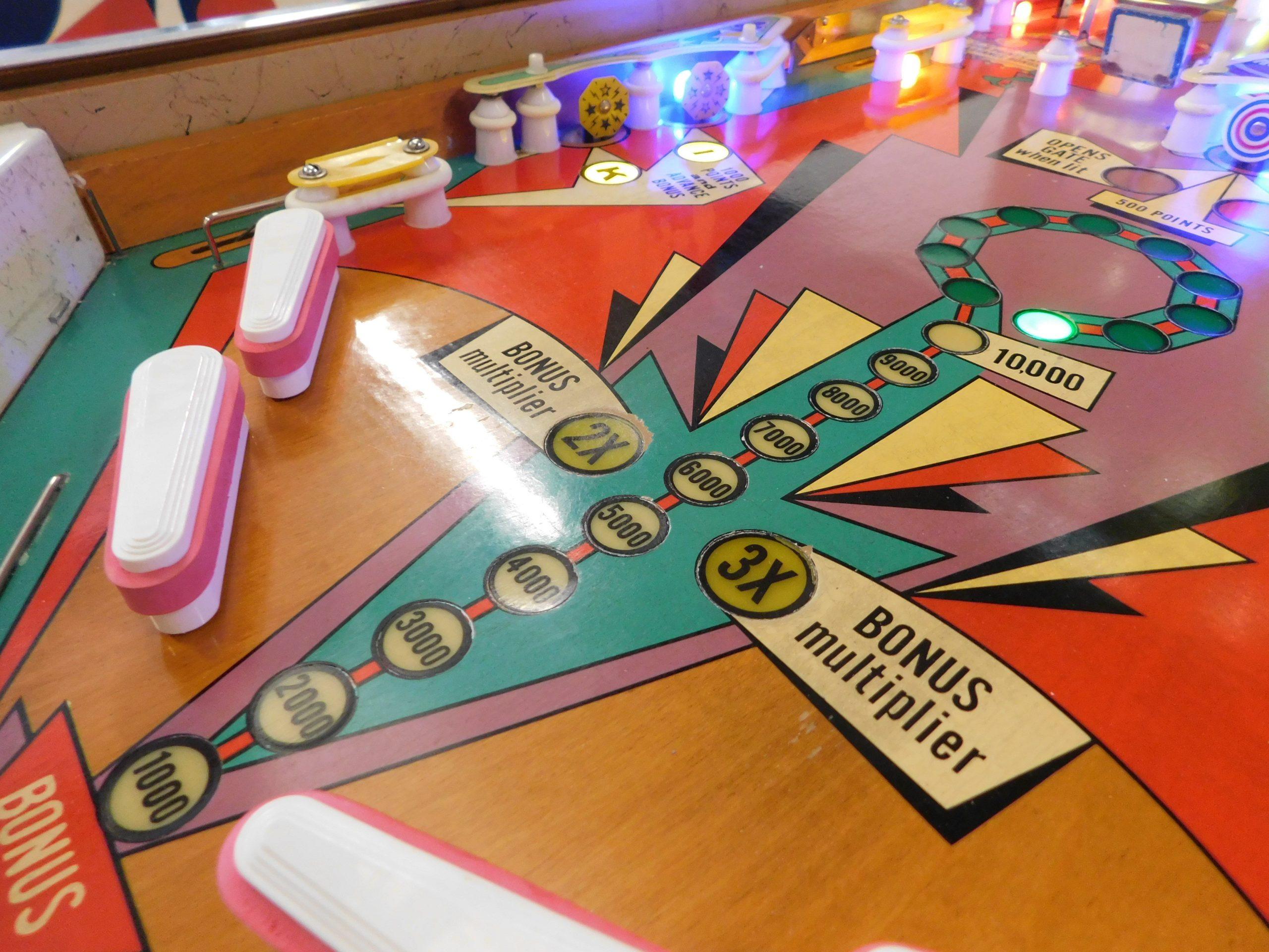 Pinball Restorations, Gottlieb King Kool
