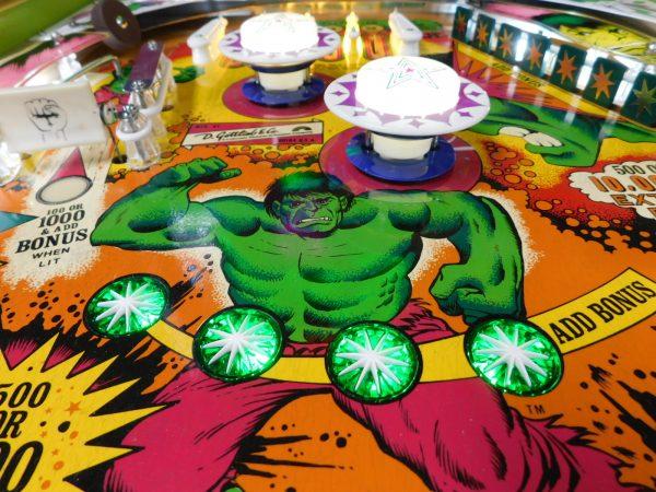 Pinball Restorations, Gottlieb Incredible Hulk