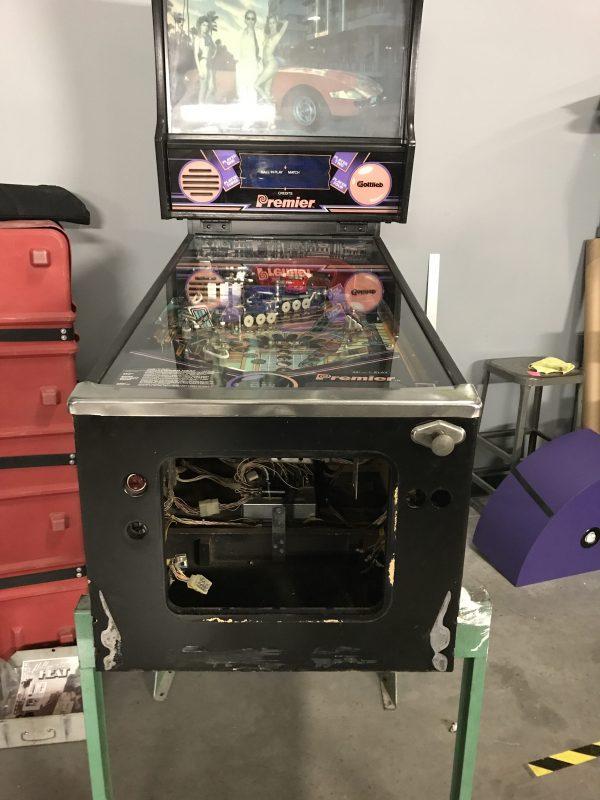 Pinball Restorations, Gottlieb Hollywood Heat