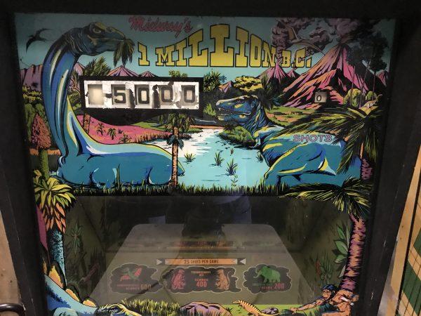 Pinball Restorations, Midway 1 Million BC