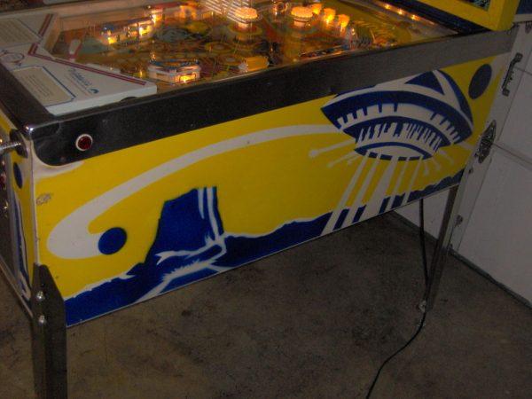 Pinball Restorations, Gottlieb Close Encounters of the third kind