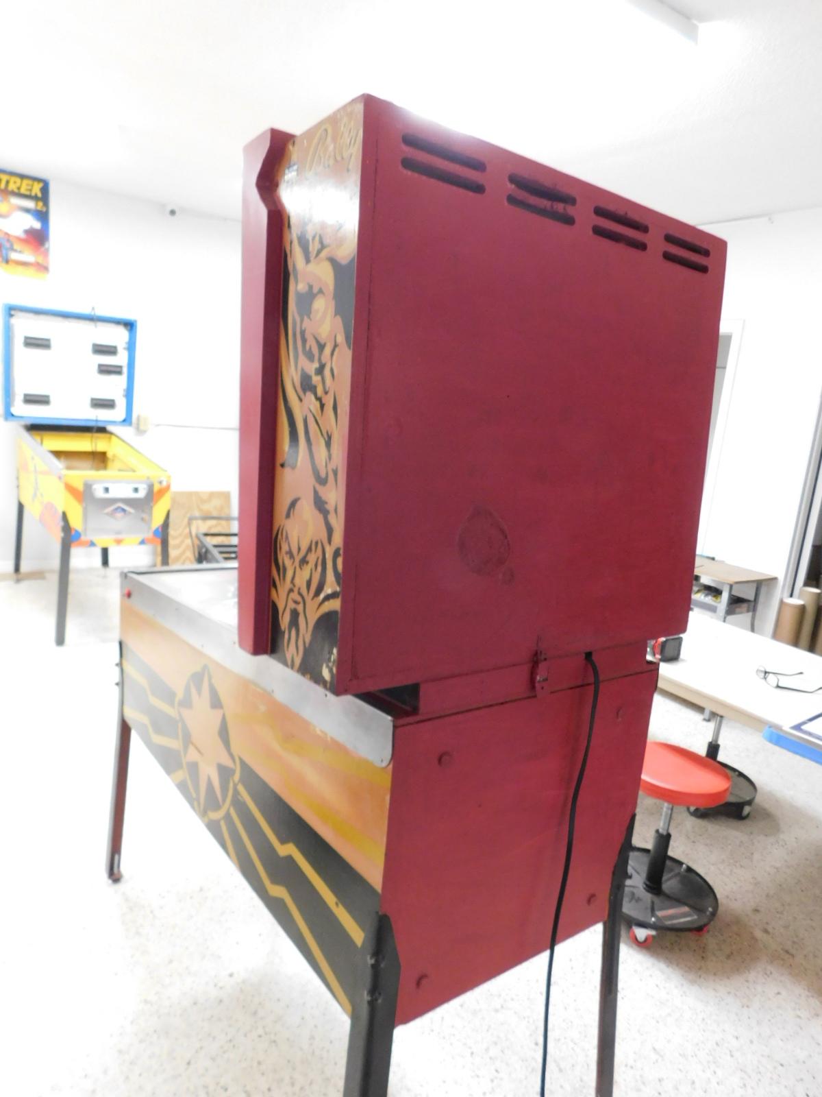Pinball Restorations, Bally Flash Gordon